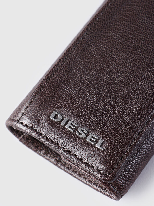 Diesel - KEYCASE O, Marrone - Bijoux e Gadget - Image 3