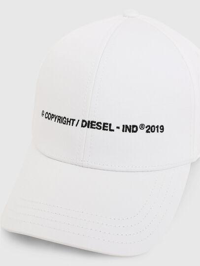 Diesel - CIMAXI, Bianco - Cappelli - Image 3