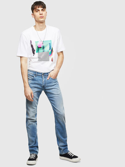 Diesel - Safado 069MN, Blu Chiaro - Jeans - Image 5