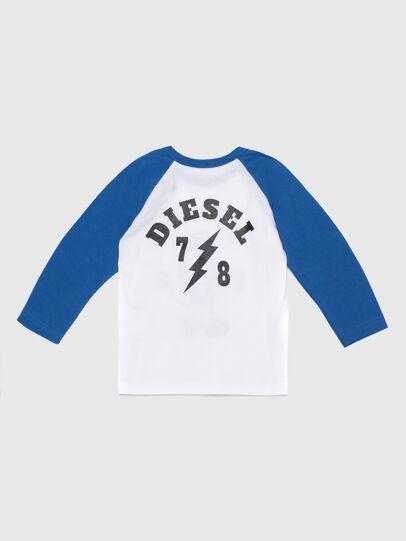 Diesel - TORAB, Bianco/Blu - T-shirts e Tops - Image 2