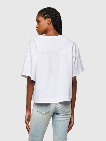 Diesel - T-BOWLESS-A1, Bianco - T-Shirts - Image 2