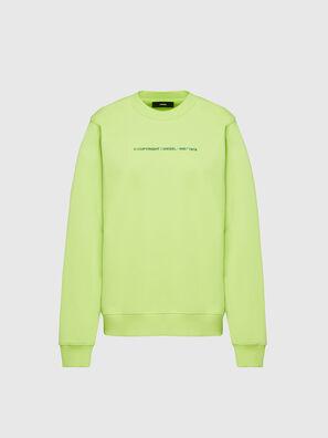 F-ANG-COPY, Verde Fluo - Felpe