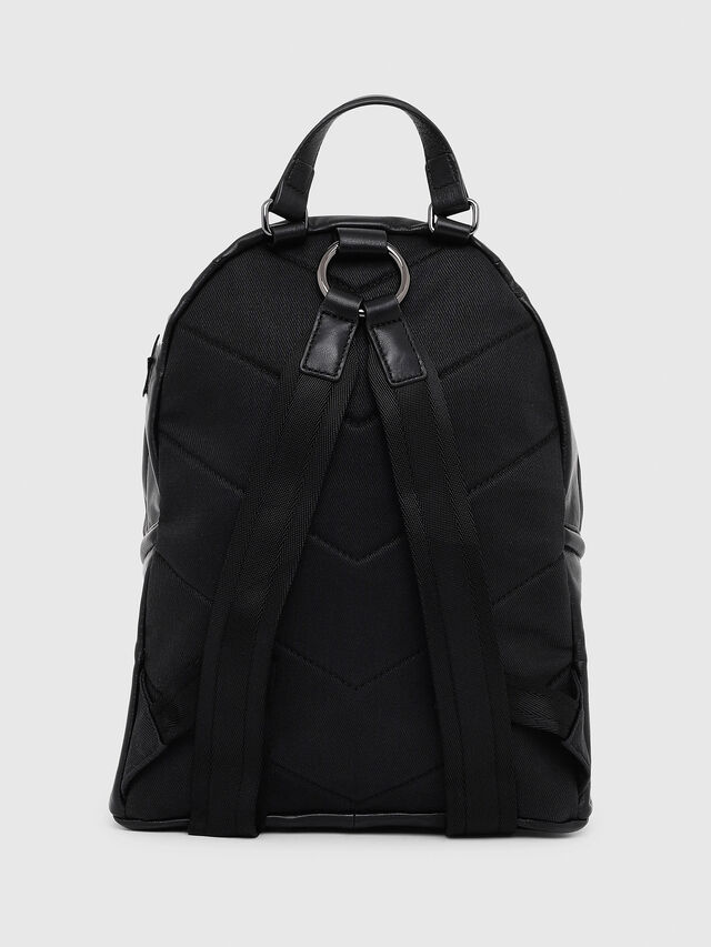 Diesel - LE-ZIPPER BACKPACK, Nero - Zaini - Image 2