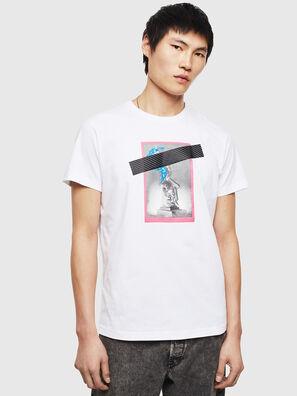 T-DIEGO-S8, Bianco - T-Shirts
