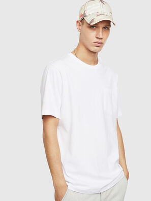 T-JUST-POCKET-T17, Bianco - T-Shirts