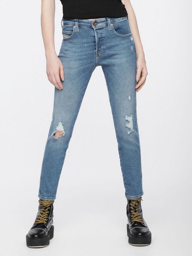 Diesel - Babhila 084WP, Blu Chiaro - Jeans - Image 2