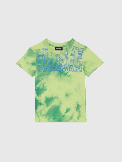 Diesel - TIMMYB-R, Verde - T-shirts e Tops - Image 1