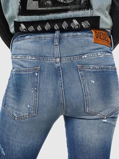Diesel - D-Rifty 0097B, Blu medio - Jeans - Image 5