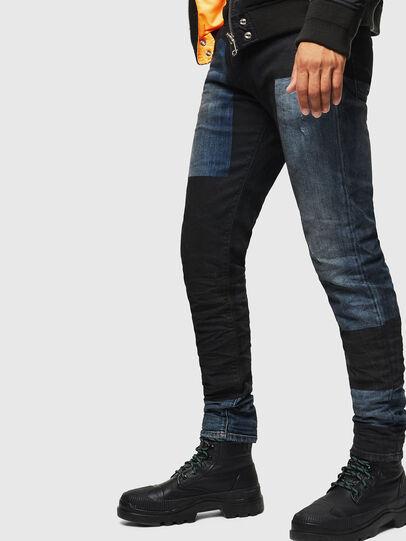 Diesel - D-Strukt 0094K, Blu Scuro - Jeans - Image 4