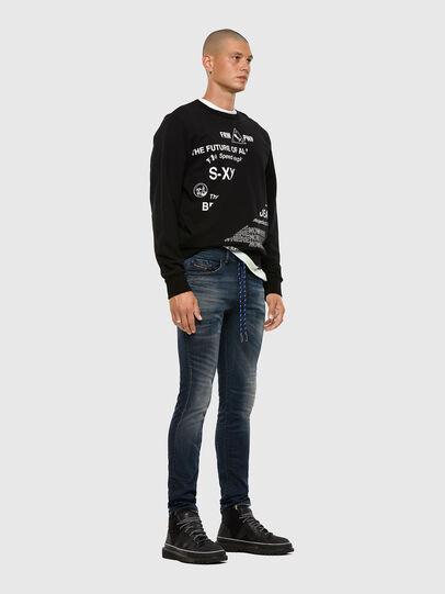 Diesel - Thommer JoggJeans® 069NT, Blu Scuro - Jeans - Image 5