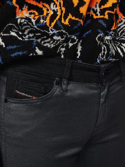 Diesel - Slandy Zip 069GF, Nero/Grigio scuro - Jeans - Image 3