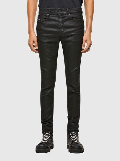 Diesel - D-Reeft JoggJeans® 069TE, Nero/Grigio scuro - Jeans - Image 1