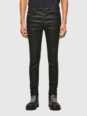 D-REEFT JoggJeans® 069TE, Nero/Grigio scuro - Jeans