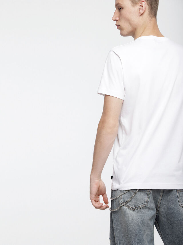 Diesel - T-DIEGO-XC, Bianco - T-Shirts - Image 2