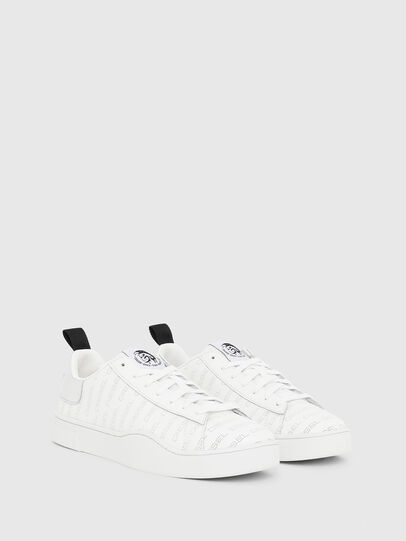 Diesel - S-CLEVER LOW LACE, Bianco/Argento - Sneakers - Image 2