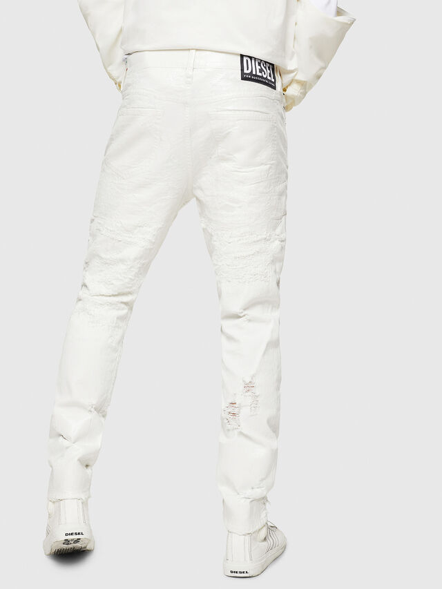 Diesel - Mharky 069GY, Bianco - Jeans - Image 2