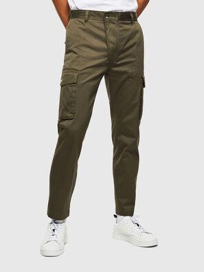 P-JARED-CARGO, Verde - Pantaloni