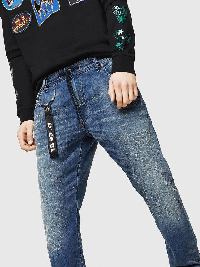 Diesel - Krooley JoggJeans 069HG, Blu medio - Jeans - Image 3