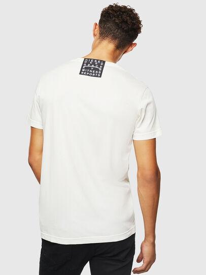 Diesel - T-DIEGO-J5, Bianco - T-Shirts - Image 3