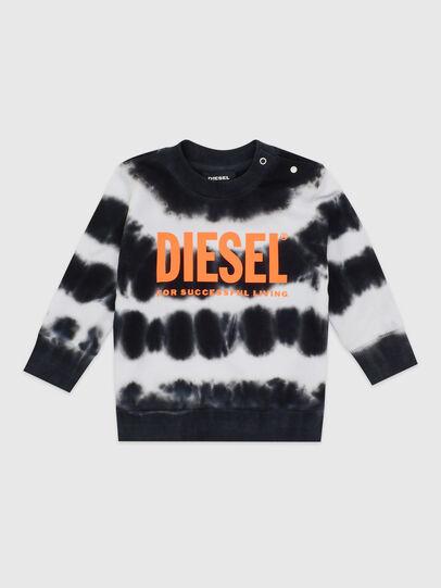 Diesel - SOBEZB, Nero/Bianco - Felpe - Image 1