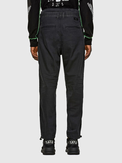 Diesel - D-Skint JoggJeans 069PC, Nero/Grigio scuro - Jeans - Image 2