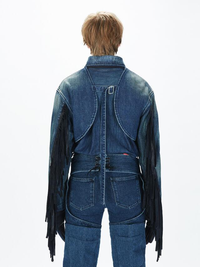 Diesel - SOGLV01-KIT, Blu Jeans - Guanti - Image 6