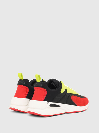 Diesel - S-SERENDIPITY LOW CU, Nero/Rosso - Sneakers - Image 3