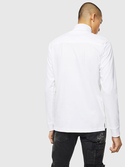 Diesel - T-DIEGO-LS-DOLCE, Bianco - T-Shirts - Image 2