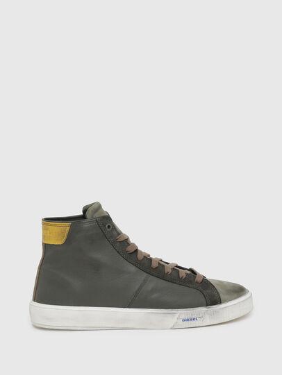 Diesel - S-MYDORI MC, Verde Militare - Sneakers - Image 1