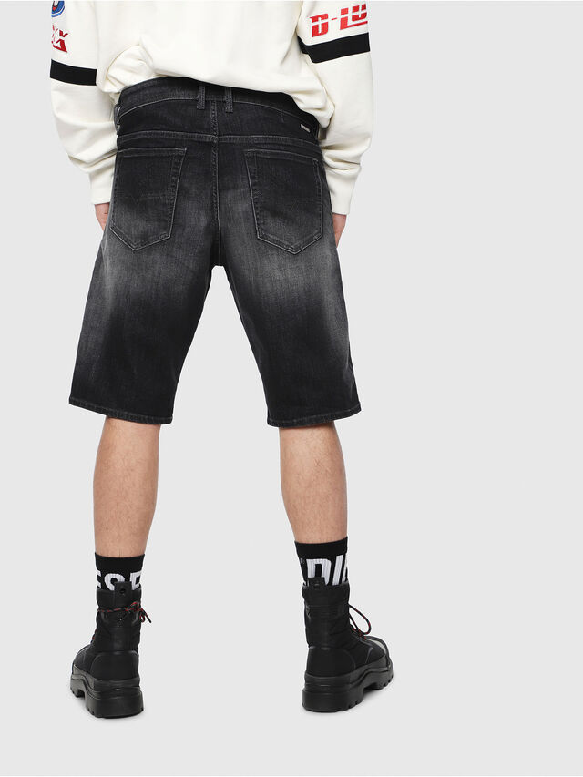 Diesel - THOSHORT, Nero/Grigio scuro - Shorts - Image 2