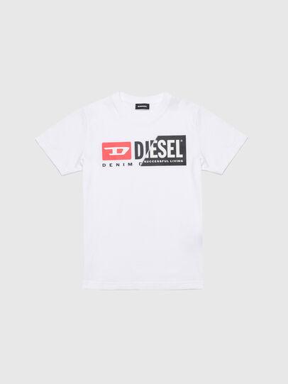 Diesel - TDIEGOCUTY, Bianco - T-shirts e Tops - Image 1
