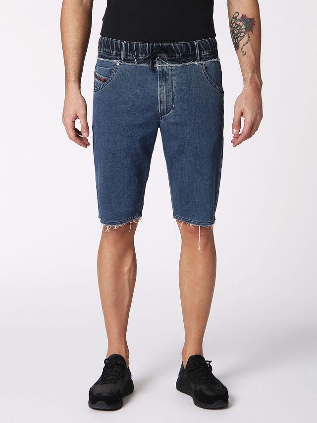 KROOSHORT W JOGGJEANS, Blu Jeans