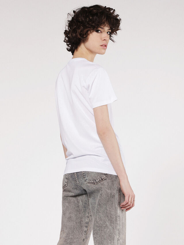 Diesel - T-EXPLO, Bianco - T-Shirts - Image 2