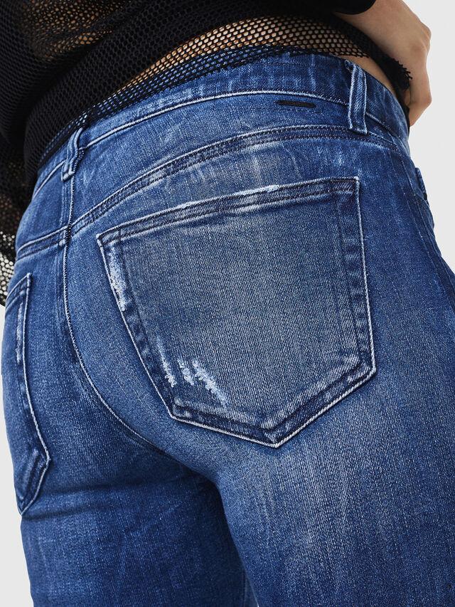 Diesel - Slandy 0090K, Blu medio - Jeans - Image 4