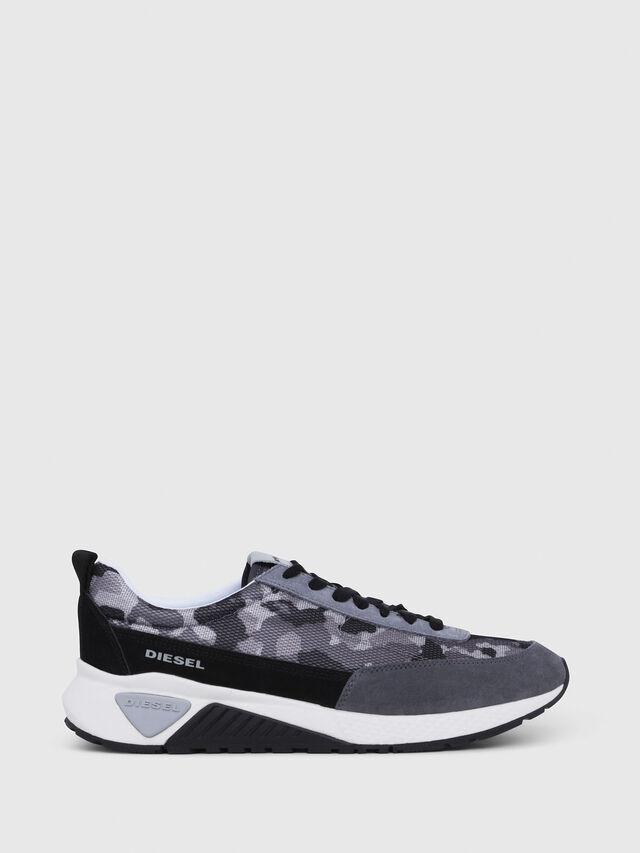 Diesel - S-KB LOW LACE, Grigio/Nero - Sneakers - Image 1