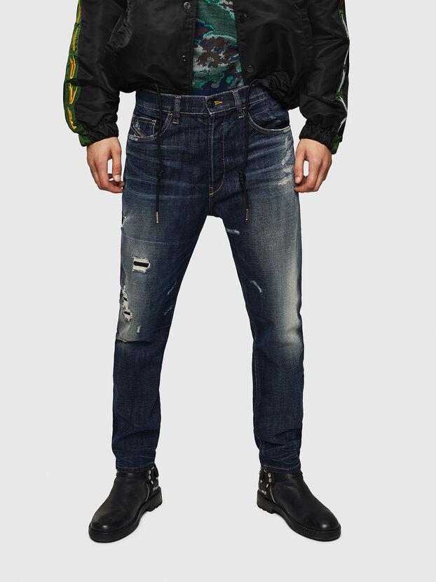 D-Eetar 0890W, Blu Scuro - Jeans