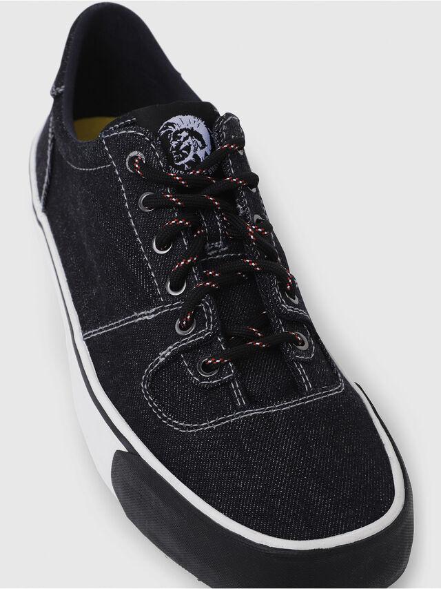 Diesel - S-FLIP LOW, Blu Jeans - Sneakers - Image 5
