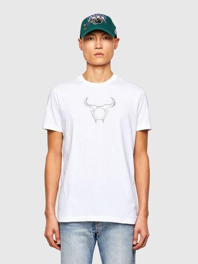 Diesel - CL-T-DIEGOS-O2, Bianco - T-Shirts - Image 1