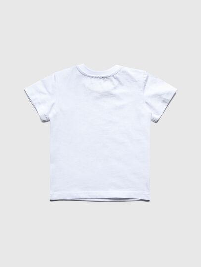 Diesel - TDIEGOS3B, Bianco - T-shirts e Tops - Image 2