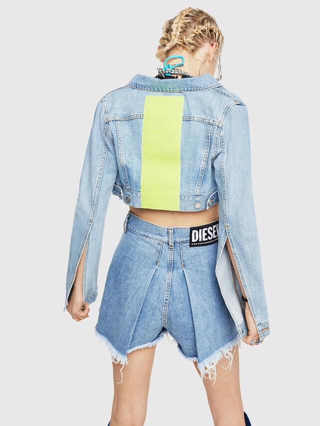 Diesel - DE-ZAUPY-C, Blu Jeans - Giacche in denim - Image 2