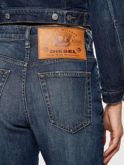 Diesel - D-Reggy 09A06, Blu Scuro - Jeans - Image 4