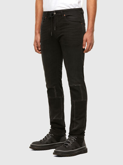 Diesel - Thommer JoggJeans 009IC, Nero/Grigio scuro - Jeans - Image 6