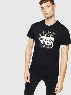 T-DIEGO-J12, Nero - T-Shirts