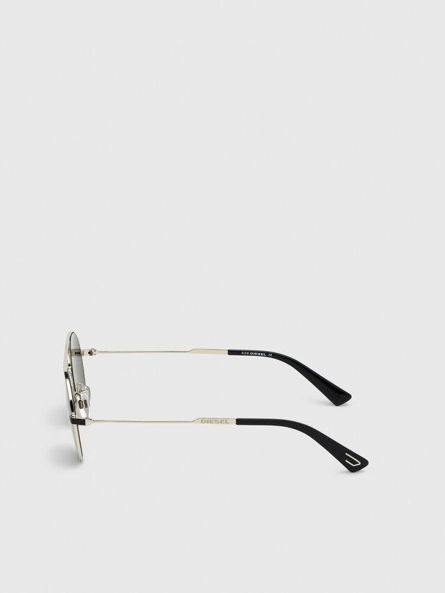Diesel - DL0301, Nero/Oro - Occhiali da sole - Image 3