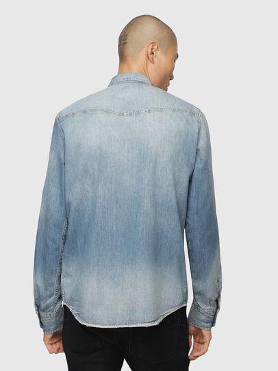 Diesel - D-EAST-P, Blu Jeans - Camicie in Denim - Image 2