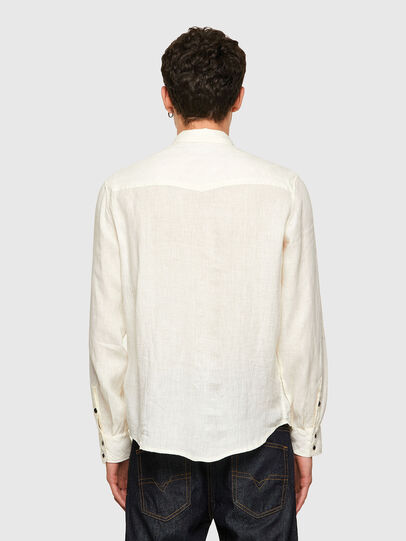 Diesel - S-EAST-LONG-LIN, Bianco - Camicie - Image 2