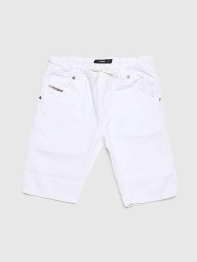 Diesel - KROOLEY-NE-J SH, Bianco - Shorts - Image 1
