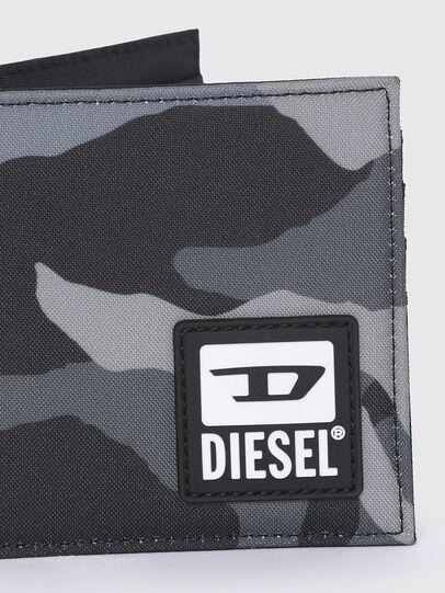 Diesel - HIRESH S, Grigio/Nero - Portafogli Piccoli - Image 4