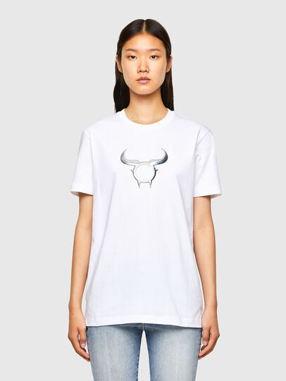 Diesel - CL-T-DIEGOS-O2, Bianco - T-Shirts - Image 2