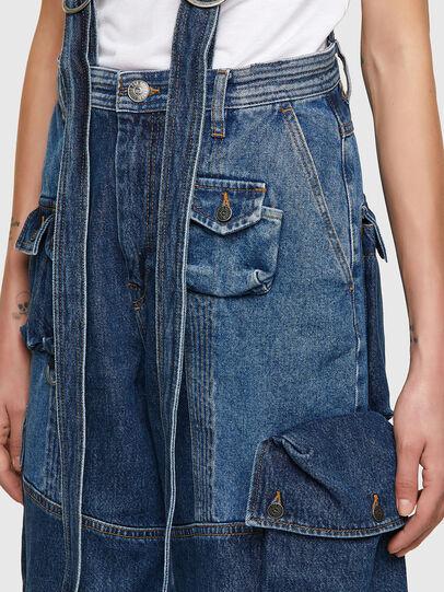Diesel - DE-AMETHY, Blu medio - Pantaloni - Image 4